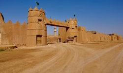 Saudi Arabia, Al Qasab, Historical village