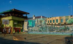 Graffity painting of Revolution